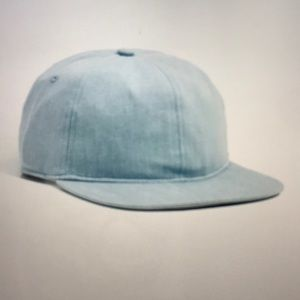 Saturdays NYC Stanley Stone Washed Indigo Hat NWT